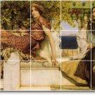 Alma-Tadema Historical Kitchen Mural Tiles Decor Decor Interior