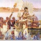 Alma-Tadema Historical Tile Mural Shower Home Modern Decorating
