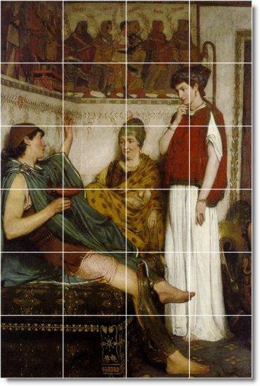 Alma-Tadema Historical Shower Murals Wall Wall Home Decor Decor
