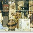 Alma-Tadema Historical Wall Shower Wall Murals Decor Home Decor
