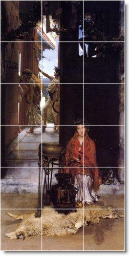 Alma-Tadema Historical Wall Wall Shower Murals Decor Home Decor