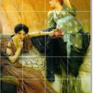 Alma-Tadema Women Room Murals Living Wall Wall Floor Decor Design