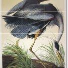 Audubon Birds Wall Kitchen Backsplash Murals Interior Remodeling