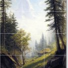 Bierstadt Country Shower Murals Wall Tile Remodeling House Modern