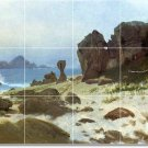 Bierstadt Waterfront Floor Living Mural Room House Decor Modern