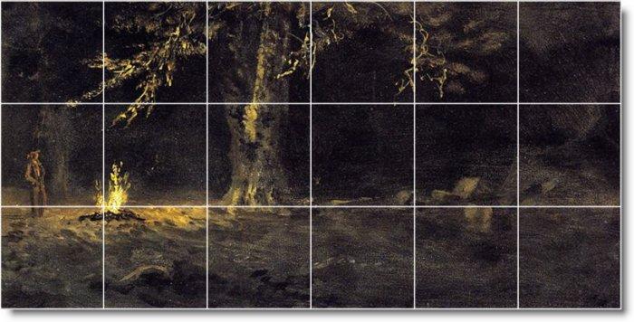 Bierstadt Landscapes Living Tiles Floor Room Renovations Design