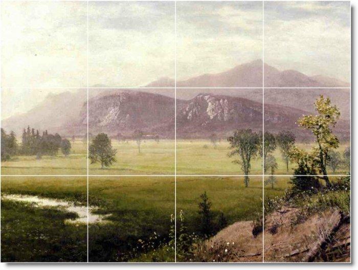 Bierstadt Landscapes Kitchen Tile Mural Interior Decor Renovate