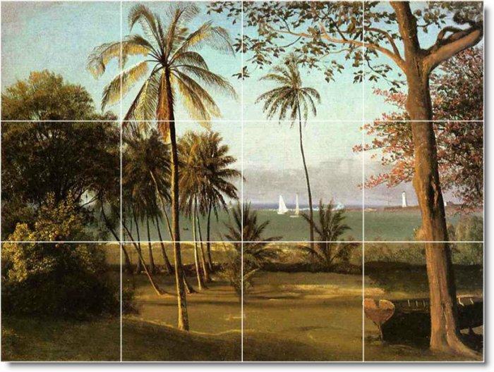 Bierstadt Landscapes Backsplash Wall Tiles Decor Renovate House