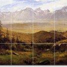 Bierstadt Landscapes Wall Tile Bathroom Renovations House Ideas