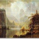 Bierstadt Landscapes Tile Bathroom Wall Renovations Ideas House