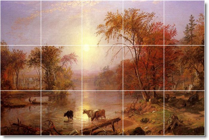 Bierstadt Country Wall Dining Wall Murals Room House Design Decor