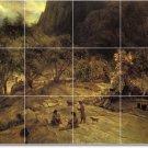 Bierstadt Indians Wall Room Dining Wall Murals Design Decor House