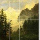Bierstadt Landscapes Backsplash Tiles Kitchen Mural Decor Floor