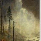 Bierstadt Waterfalls Murals Tile Shower Wall Design Renovations