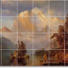 Bierstadt Landscapes Wall Dining Floor Murals Room Design Floor