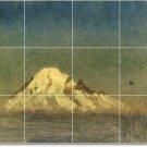 Bierstadt Landscapes Tile Wall Murals Shower House Decor Modern