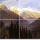 Bierstadt Landscapes Tiles Bedkitchen Mural Remodel Decor Floor