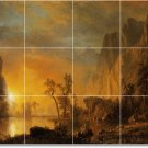 Bierstadt Landscapes Wall Room Murals Dining Wall Decor Remodel