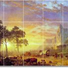 Bierstadt Landscapes Room Tiles Floor Living House Decor Modern