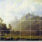 Bierstadt Landscapes Backsplash Mural Kitchen Wall Construction