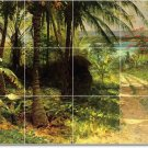 Bierstadt Landscapes Mural Shower Bathroom Decor House Renovate