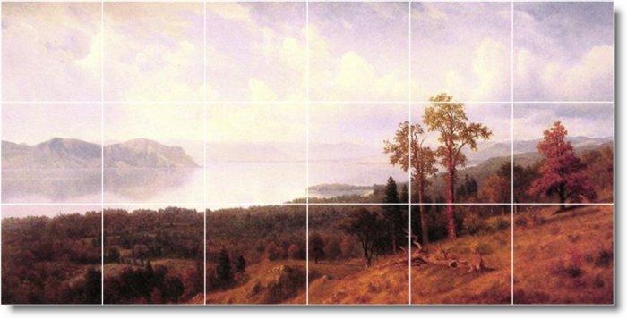 Bierstadt Landscapes Murals Wall Bedroom Home Remodeling Modern
