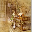 Boldini Women Bathroom Shower Tiles Mural Construction Home Idea