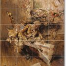 Boldini Women Murals Wall Room Dining Tile House Remodeling Idea