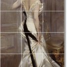 Boldini Women Murals Wall Tile Dining Room Remodeling House Idea