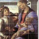 Botticelli Religious Murals Floor Bedroom House Remodeling Design
