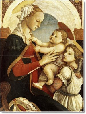 Botticelli Religious Floor Bedroom Tiles Modern Home Construction
