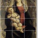 Botticelli Religious Tiles Floor Bedroom Home Construction Modern