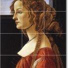 Botticelli Women Wall Room Tiles Mural Interior Idea Decorating