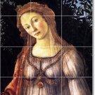 Botticelli Women Wall Mural Room Tiles Decorating Interior Idea