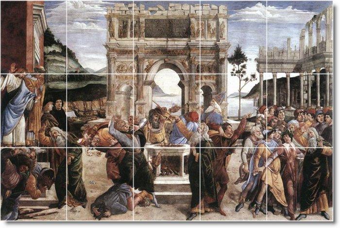 Botticelli Historical Living Room Tile Idea Construction House