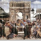 Botticelli Historical Living Room Tile Idea Construction House