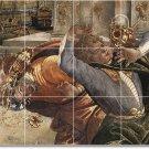 Botticelli Historical Wall Mural Tiles Room Home Modern Design