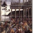 Botticelli Historical Wall Tiles Room Mural Home Design Modern