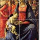 Botticelli Religious Wall Tile Shower Home Design Remodeling Idea
