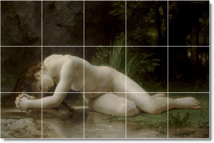 Bouguereau Nudes Dining Wall Room Murals Remodeling Design Home