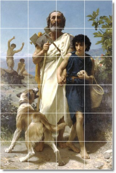 Bouguereau Historical Room Murals Dining Wall Home Decor Decor