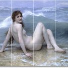 Bouguereau Nudes Backsplash Mural Tile Kitchen Art Residential
