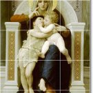 Bouguereau Mother Child Living Room Tile Idea Construction House