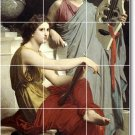 Bouguereau Women Tile Mural Dining Room House Ideas Remodeling