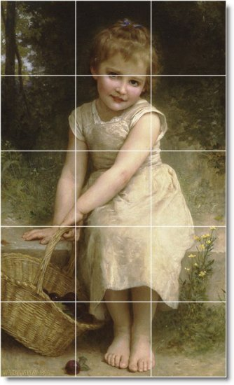 Bouguereau Children Wall Room Murals Dining Wall Decor Remodel