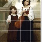 Bouguereau Children Room Mural Living Floor Floor Design Decor