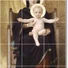 Bouguereau Mother Child Wall Dining Murals Room Decor Decor Home