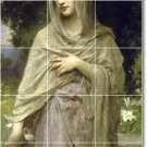 Bouguereau Women Tile Room Murals Idea Home Design Renovations