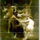 Bouguereau Mythology Tiles Mural Bathroom Wall Shower Decor House