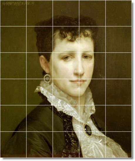 Bouguereau Women Shower Mural Bathroom Tile Construction House